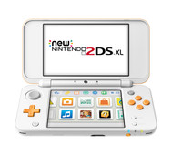 Nintendo 2DS XL Wit / Oranje