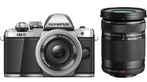 Olympus OM-D E-M10 Mk II Silver + 14-42mm IIR + 40-150mm R