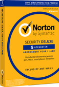 Norton Security Deluxe 2019 | 5 Apparaten | 1 Jaar