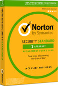Norton Security Standard 2019 | 1 Device | 1 year