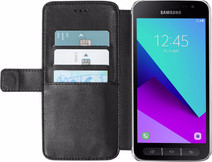 Azuri Wallet Magnetic Samsung Galaxy Xcover 4 Book Case Black