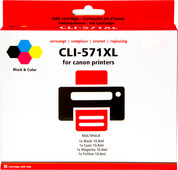 Pixeljet CLI-571 XL 4-Color Pack for Canon printers