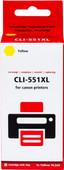Pixeljet CLI-551XL Yellow for Canon printers (6446B001)