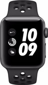 Apple Watch Series 3 Nike+ 42mm Space Grey Aluminium/Zwart Sportband