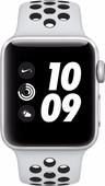 Apple Watch Series 3 Nike+ 42mm Zilver Aluminium/Zwart Sportband