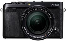 Fujifilm X-E3 Zwart + XF 18-55mm f/2.8-40 R LM OIS