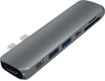 Satechi TYPE-C PRO Hub 4K HDMI Gray