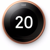 Google Nest Learning Thermostat V3 Premium Koper met installatie