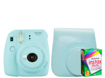 Starterskit - Fuji Instax Mini 9 Ice Blue