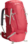 Vaude Wo Asymmetric 48+8L Indian Red