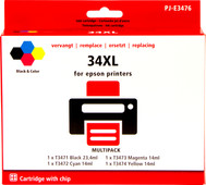 Own brand 34XL 4-color pack for Epson (C13T34764010)