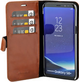 Valenta Classic Luxe Samsung Galaxy S8 Plus Book Case Bruin