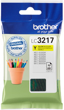 Brother LC-3217 Cartridge Geel