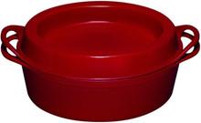 Le Creuset Ovale Doufeu Braadpan 32 cm Kersenrood