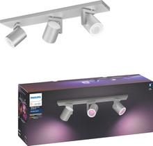 Philips Hue Argenta 3-Spot White & Color aluminum