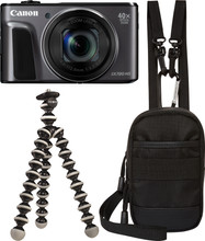 Canon PowerShot SX720 HS Zwart Travel Kit