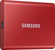 Samsung Portable SSD T7 500GB Red
