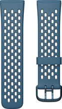 Fitbit Versa 3/Sense Silicone Strap Sapphire/Fog Grey L