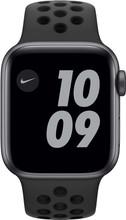Apple Watch Nike SE 40mm Space Gray Aluminum Black Sport Band
