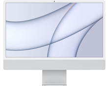"""Apple iMac 24"""" (2021) 16GB/256GB Apple M1 met 7 core GPU Zilver"""