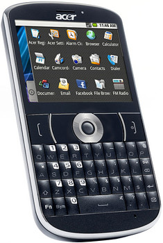 Acer BeTouch E130 Black QWERTY