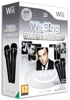 We Sing Robbie Williams Wii + 2 Microphones