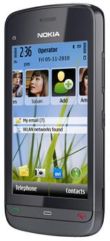 Nokia C5-03 Graphite Black + Autolader + Geheugen