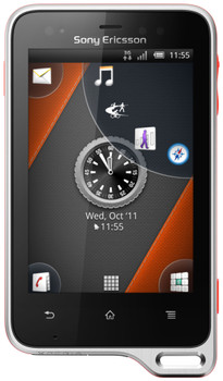 Sony Ericsson Xperia Active Black Orange