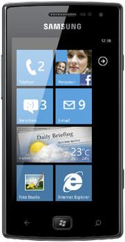 Samsung Omnia W I8350 Metallic Black