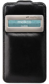 Melkco Premium Case Black Apple iPhone 4 / 4S