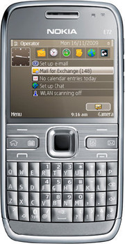 Nokia E72 Metal Grey QWERTY