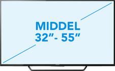 Middelgrote tv's