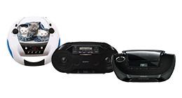 radio cd spelers