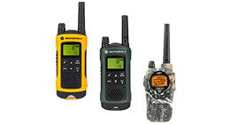 Wintersport walkie talkies