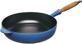 Le Creuset Gietijzeren Sauteerpan 28 cm Marseilleblauw