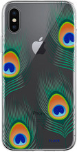 FLAVR iPlate Peacock iPhone X Back Cover
