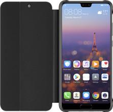 Huawei P20 View Cover Book Case Zwart