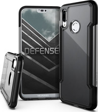 X-Doria Defense Clear Huawei P20 Lite Back Cover Zwart