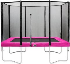 Salta Rechthoekig met Veiligheidsnet 213 x 305 cm Roze