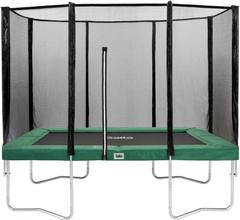 Salta Rechthoekig met Veiligheidsnet 213 x 305 cm Groen