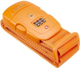 Samsonite Safe US3 Combi Luggage Strap 2 Orange