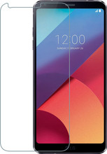 Azuri Gehard Glas LG Q6 Screenprotector Glas Duo Pack
