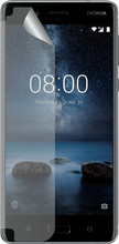 Azuri Nokia 8 Screenprotector Plastic Duo Pack