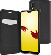 Caisse Noire Livret Mince Pour Huawei P20 OBcDWSy