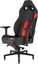 Corsair T2 Road Warrior Gaming Chair Zwart/Rood