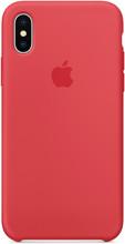 Apple iPhone X Silicone Back Cover Frambozenrood
