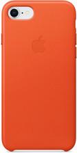 Apple iPhone 7/8 Leather Back Cover Feloranje