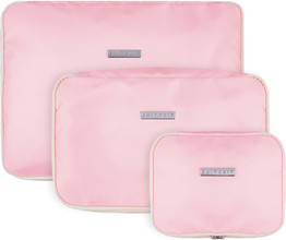 SUITSUIT Fabulous Fifties Packing Cube Set (S-M-L) Pink Dust
