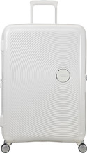 American Tourister Soundbox Spinner 77 cm TSA Exp Pure White