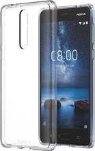 Nokia 8 Hybrid Crystal Back Cover Transparant